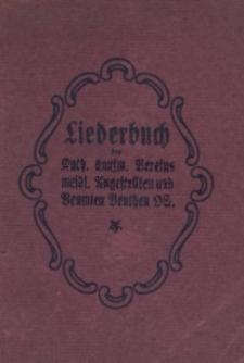 Liederbuch des Kath. kaufmännischen Vereins weiblicher Angestellten und Beamten Beuthen OS