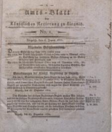 Amts-Blatt der Königlichen Regierung zu Liegnitz, 1833, Jg. 23, No. 1