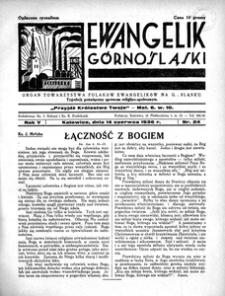 Ewangelik Górnośląski, 1936, R. 5, nr 24
