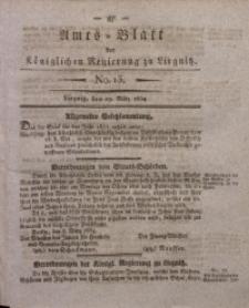 Amts-Blatt der Königlichen Regierung zu Liegnitz, 1834, Jg. 24, No. 13