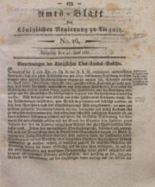 Amts-Blatt der Königlichen Regierung zu Liegnitz, 1835, Jg. 25, No. 26