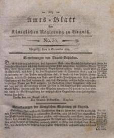 Amts-Blatt der Königlichen Regierung zu Liegnitz, 1835, Jg. 25, No. 36