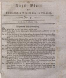 Amts-Blatt der Königlichen Regierung zu Liegnitz, 1836, Jg. 26, No. 41