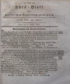 Amts-Blatt der Königlichen Regierung zu Liegnitz, 1836, Jg. 26, No. 44