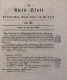 Amts-Blatt der Königlichen Regierung zu Liegnitz, 1837, Jg. 27, No. 25