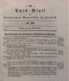 Amts-Blatt der Königlichen Regierung zu Liegnitz, 1837, Jg. 27, No. 28