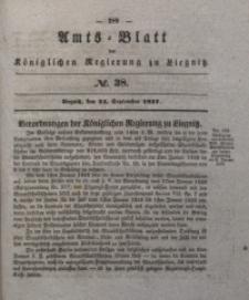 Amts-Blatt der Königlichen Regierung zu Liegnitz, 1837, Jg. 27, No. 38