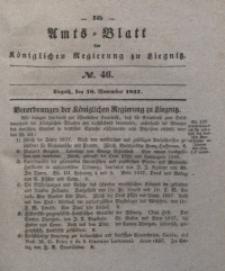 Amts-Blatt der Königlichen Regierung zu Liegnitz, 1837, Jg. 27, No. 46