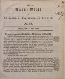 Amts-Blatt der Königlichen Regierung zu Liegnitz, 1838, Jg. 28, No. 19