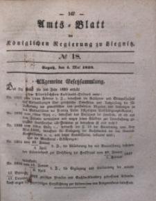 Amts-Blatt der Königlichen Regierung zu Liegnitz, 1839, Jg. 29, No 18