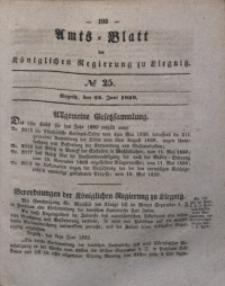 Amts-Blatt der Königlichen Regierung zu Liegnitz, 1839, Jg. 29, No 25