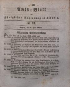 Amts-Blatt der Königlichen Regierung zu Liegnitz, 1839, Jg. 29, No 27