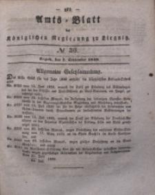 Amts-Blatt der Königlichen Regierung zu Liegnitz, 1839, Jg. 29, No 36