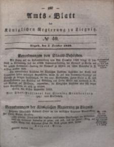 Amts-Blatt der Königlichen Regierung zu Liegnitz, 1839, Jg. 29, No 40