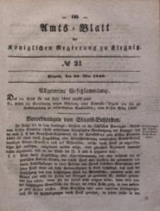 Amts-Blatt der Königlichen Regierung zu Liegnitz, 1840, Jg. 30, No 21