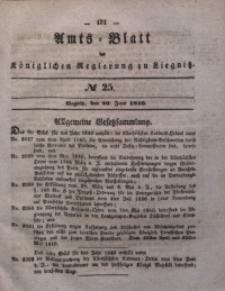 Amts-Blatt der Königlichen Regierung zu Liegnitz, 1840, Jg. 30, No 25