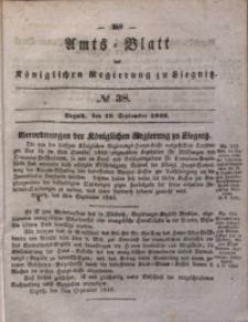 Amts-Blatt der Königlichen Regierung zu Liegnitz, 1840, Jg. 30, No 38