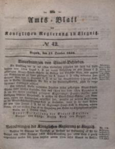 Amts-Blatt der Königlichen Regierung zu Liegnitz, 1840, Jg. 30, No 42