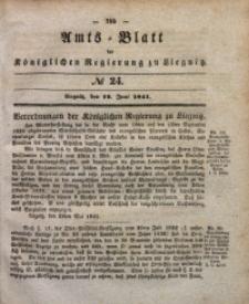 Amts-Blatt der Königlichen Regierung zu Liegnitz, 1841, Jg. 31, No 24