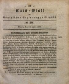 Amts-Blatt der Königlichen Regierung zu Liegnitz, 1841, Jg. 31, No 30