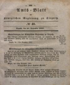 Amts-Blatt der Königlichen Regierung zu Liegnitz, 1841, Jg. 31, No 48