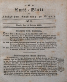 Amts-Blatt der Königlichen Regierung zu Liegnitz, 1842, Jg. 32, No 8