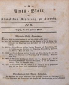 Amts-Blatt der Königlichen Regierung zu Liegnitz, 1842, Jg. 32, No 9