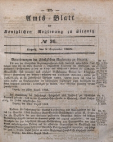 Amts-Blatt der Königlichen Regierung zu Liegnitz, 1842, Jg. 32, No 36