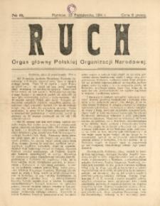 Ruch. Organ Główny Polskiej Organizacji Narodowej, 1914, No 2