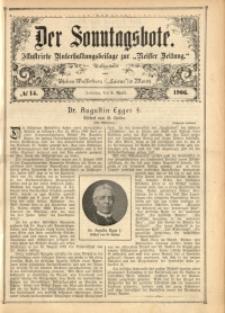 Der Sonntagsbote, 1906, No. 14