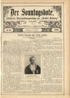 Der Sonntagsbote, 1906, No. 27