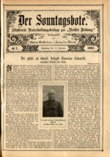 Der Sonntagsbote, 1907, No. 7