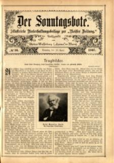 Der Sonntagsbote, 1907, No. 16