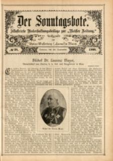 Der Sonntagsbote, 1908, No. 38