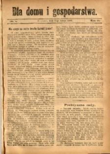 Dla Domu i Gospodarstwa, 1913, R. 3, Nr. 5