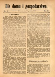 Dla Domu i Gospodarstwa, 1913, R. 3, Nr. 13
