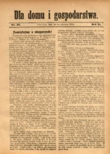 Dla Domu i Gospodarstwa, 1913, R. 3, Nr. 24