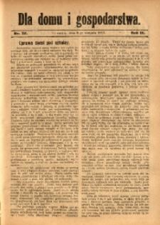 Dla Domu i Gospodarstwa, 1913, R. 3, Nr. 32