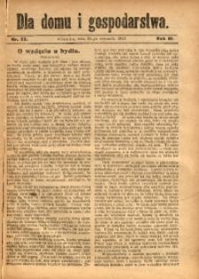 Dla Domu i Gospodarstwa, 1913, R. 3, Nr. 38