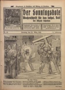 Der Sonntagsbote. Wochenschrift für das katholische Volk der Diözese Schlesien, 1926, Jg. 2, Nr. 12