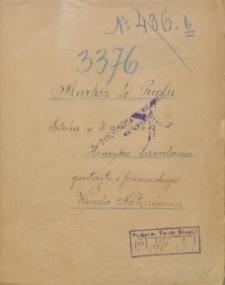 Markiz de Priola. Sztuka w 3 aktach. Tekst sztuki