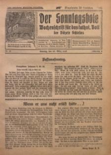 Der Sonntagsbote. Wochenschrift für das katholische Volk der Diözese Schlesien, 1928, Jg. 4, Nr. 13
