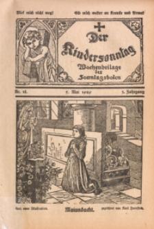 Der Kindersonntag, 1929, Jg. 3, Nr. 18