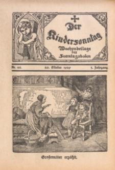Der Kindersonntag, 1929, Jg. 3, Nr. 42