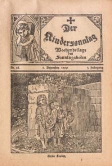 Der Kindersonntag, 1929, Jg. 3, Nr. 48