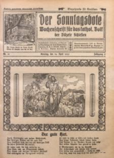Der Sonntagsbote. Wochenschrift für das katholische Volk der Diözese Schlesien, 1929, Jg. 5, Nr. 15