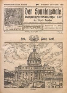 Der Sonntagsbote. Wochenschrift für das katholische Volk der Diözese Schlesien, 1929, Jg. 5, Nr. 26