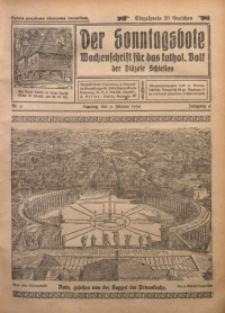 Der Sonntagsbote. Wochenschrift für das katholische Volk der Diözese Schlesien, 1930, Jg. 6, Nr. 6