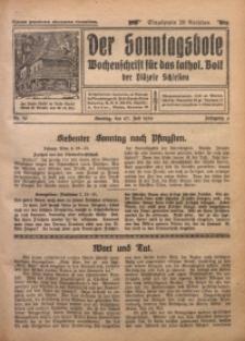 Der Sonntagsbote. Wochenschrift für das katholische Volk der Diözese Schlesien, 1930, Jg. 6, Nr. 30