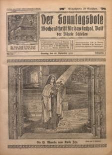 Der Sonntagsbote. Wochenschrift für das katholische Volk der Diözese Schlesien, 1930, Jg. 6, Nr. 39